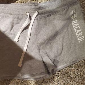 Barcardi women shorts gray 2XL new w/tags